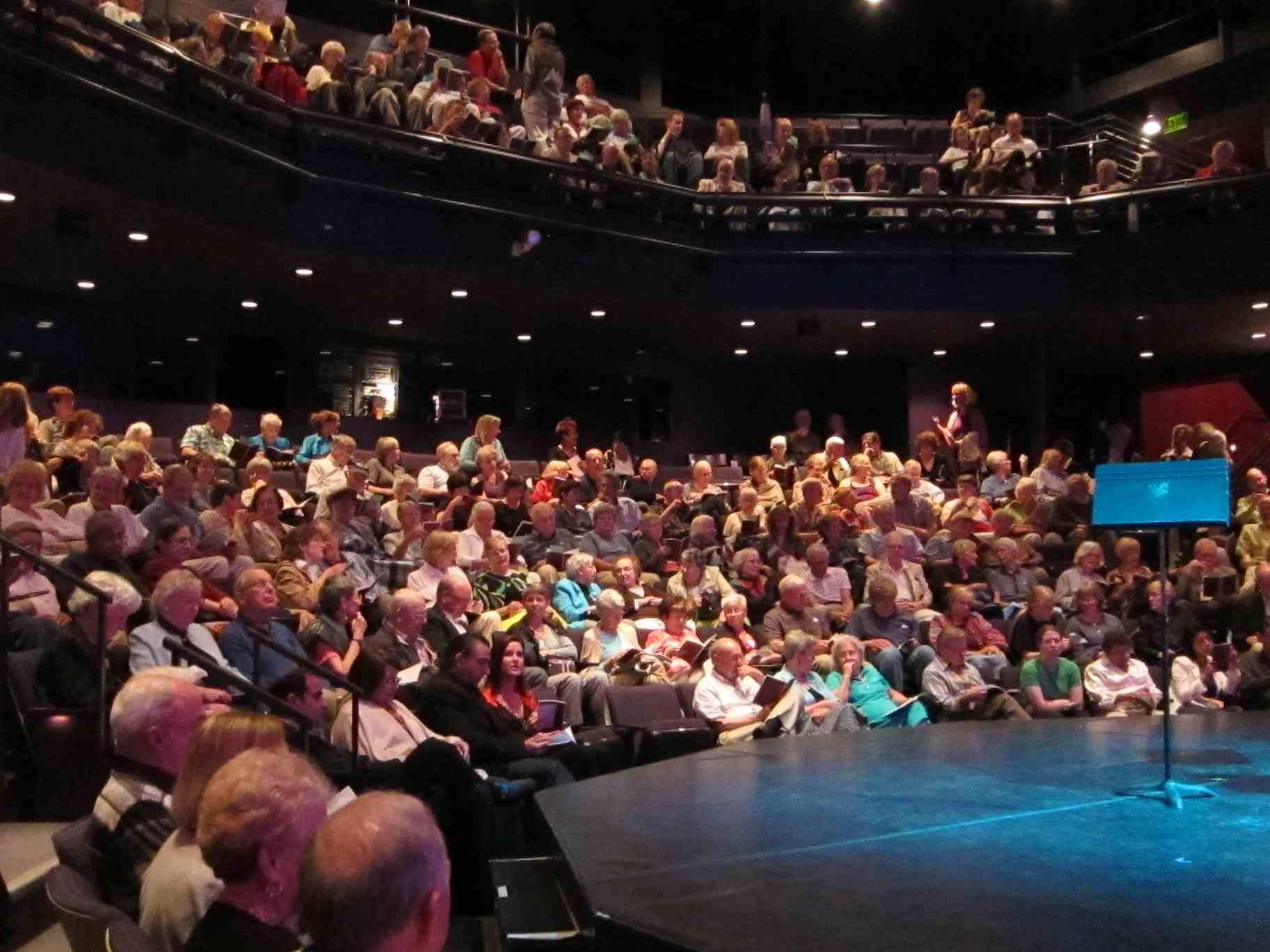 BDDS Playhouse audience