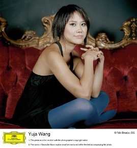 YujaWang casual photo