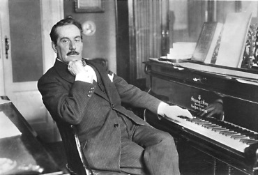 puccini at piano
