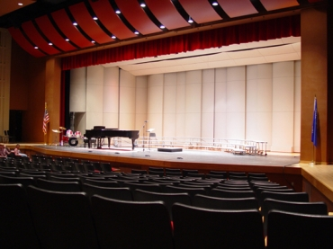 Edgerton PAC stage