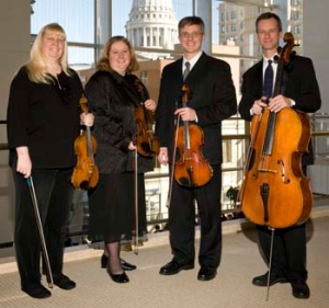 Rhapsodie Quartet MSO Greg Anderson