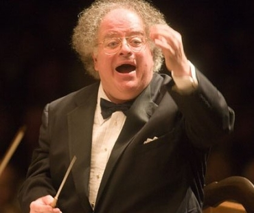 James Levine conducting