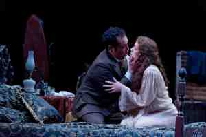 Traviata bed Madison Opera James Gill