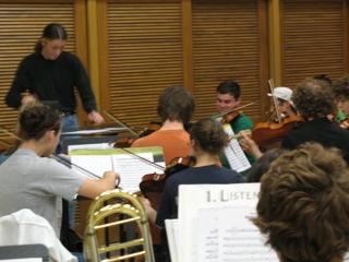 MAYCO Mikko rehearsing score Steve Rankin
