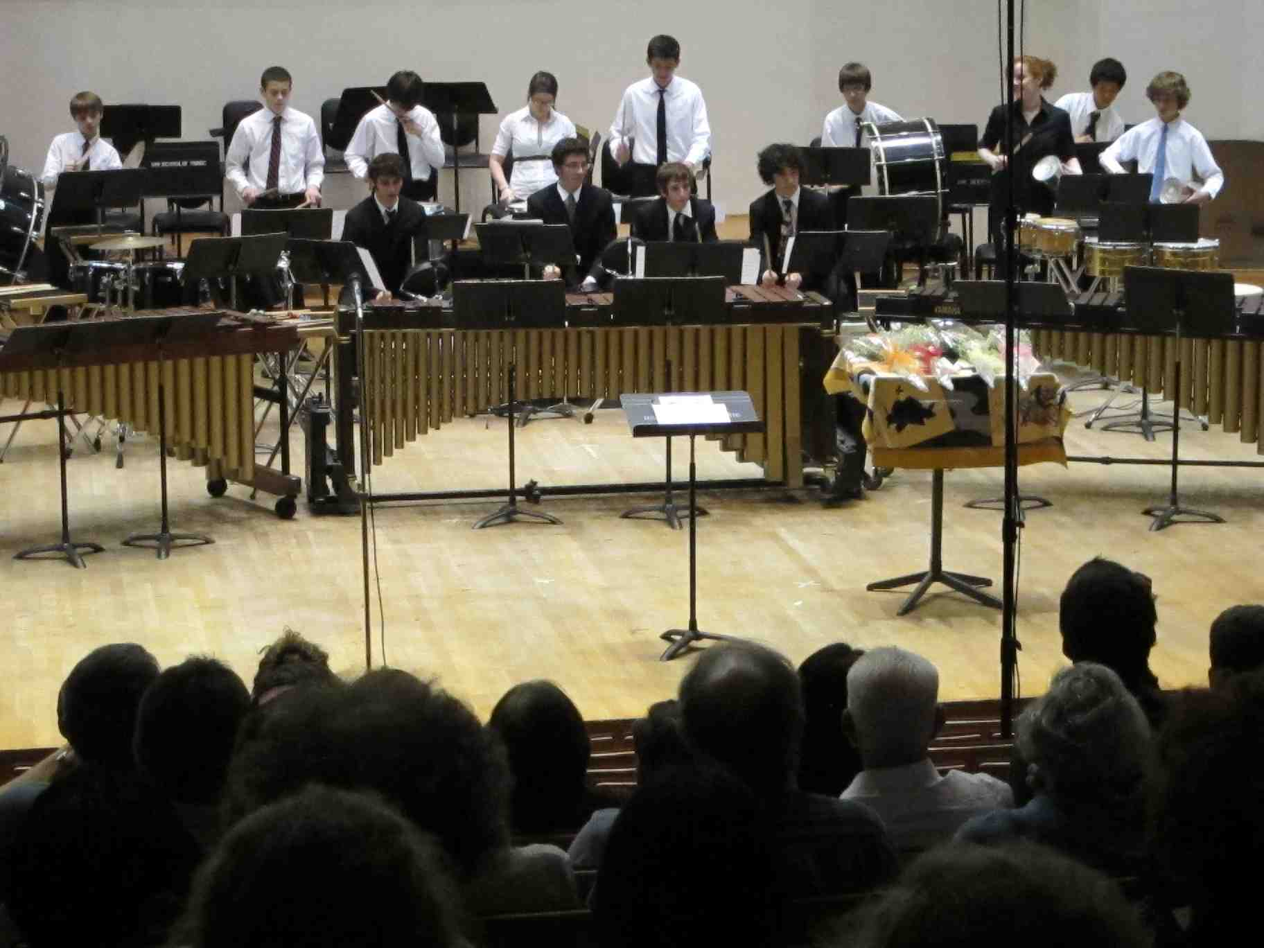WYSO Percussion Ensemble