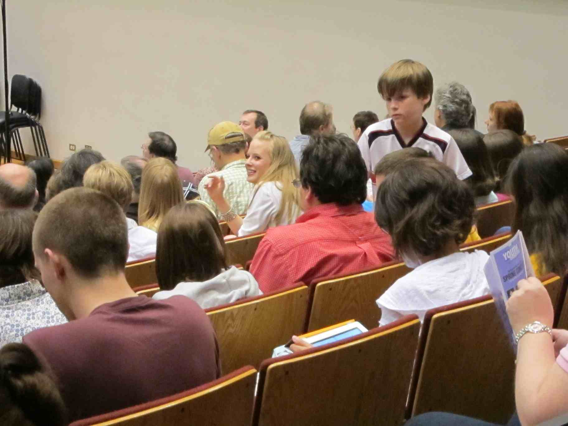 WYSO young audience