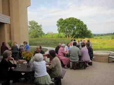 Prairie Rhapsody 2011 socializing