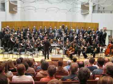 Summer Choir 2011 orchestraI