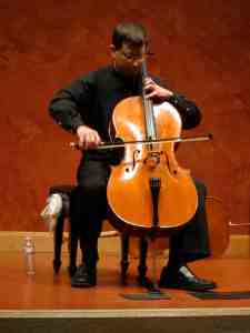 Benjamin Whitcomb playing Bach 1