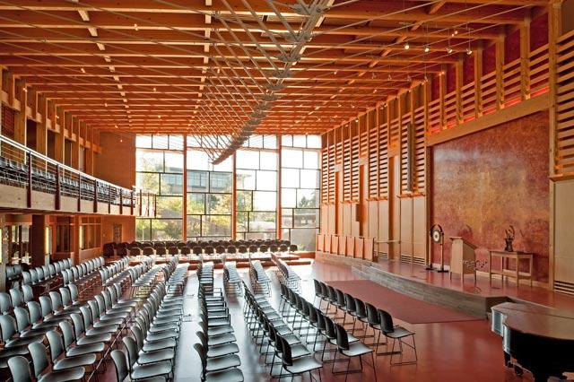 FUS Atrium, Auditorium Zane Williams