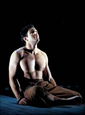 Nathan Gunn barechested in Billy Budd