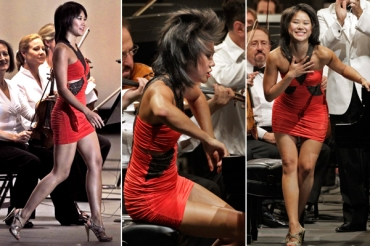yuja wang dress times 3