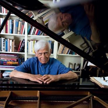 Frank Glazer at piano