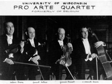 Pro Arte Quartet 1940 Brosa-Halleux-Prevost-Evans 1940