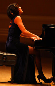 Yuja Wang at Carnegie Ruby Washington NYTimes