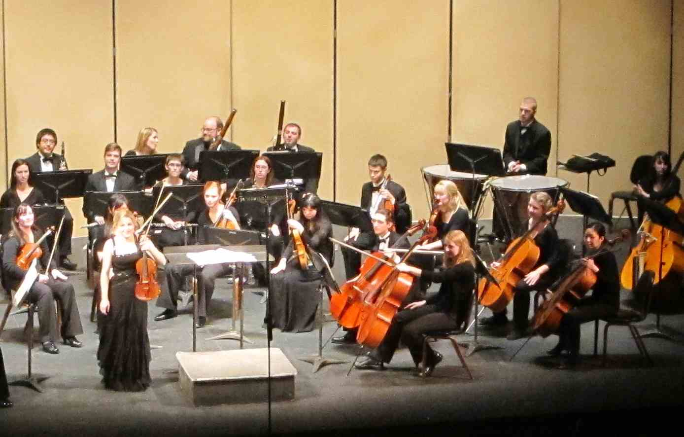 Classical music review a recital and a concerto show for Chambre orchestra