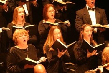 singing hallelujah chorus