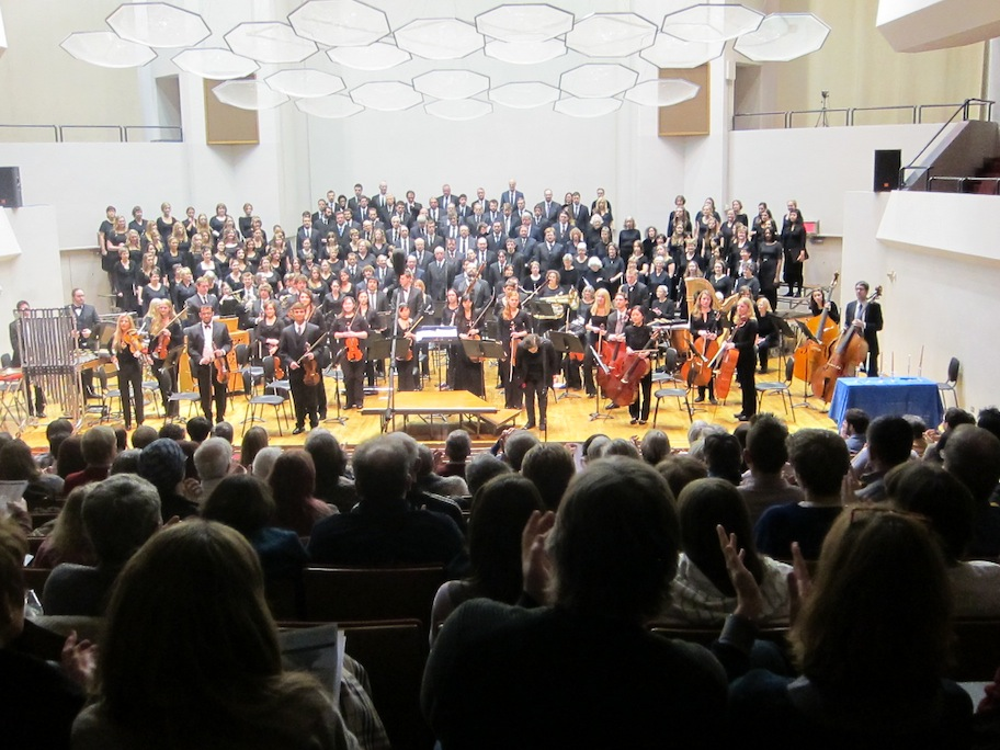 Classical music is it au revoir or adieu the uw for Chambre orchestra