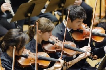 WYSO Youth Orchestra Violins