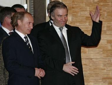 Valery Gergiev and Putin