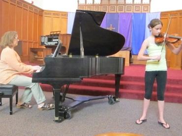 BATC 3 Denise Taylor and Ellie Taylor violin