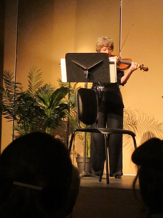 Sally Chisholm solo
