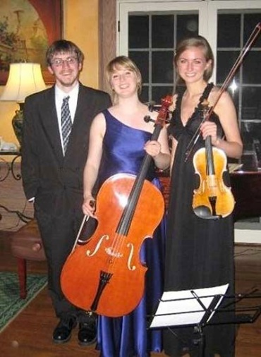 Perlman-Trio Thomas Kasdorf piano, Eleanor Bartsch violin and Maureen Kelly cello