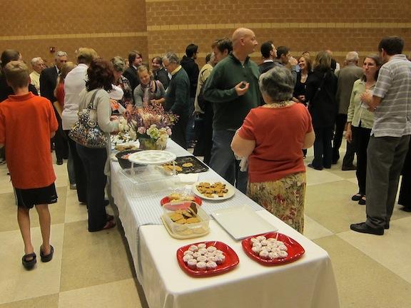 Middleton Community Orchestra reception