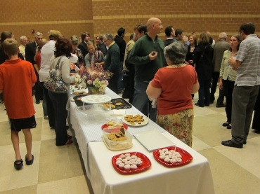 Middleton Community Orchestra reception