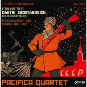 Pacifica Quartet Soviet Experience 2 CD