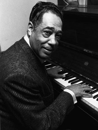 Duke Ellington at piano