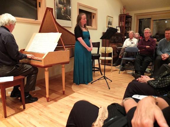 Schubert house concert