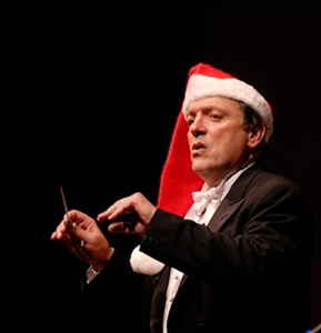 MSO John DeMain in Santa Hat
