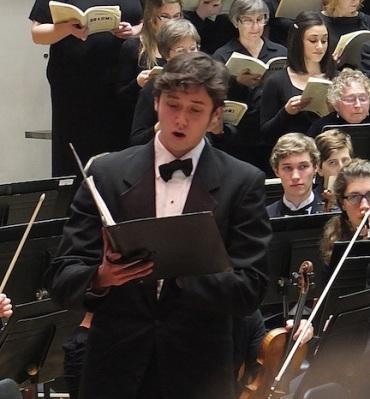 Benjamin Li, baritone Brahms German 12-7-12