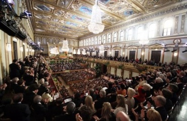 Golden Hall in Vienna