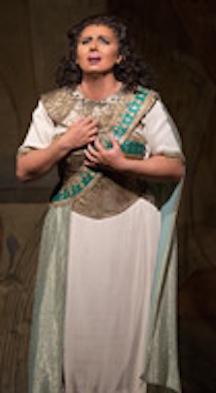 Liudmyla Monastyrska Aida