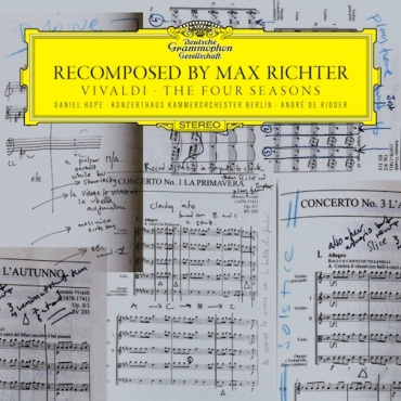 Max Richter Recomposed CD cover