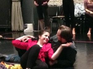 Acis and Galatea in rehearsal