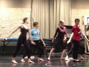 Acis Kanopy rehearsing