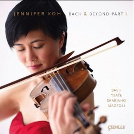 Jennifer Koh Bach and Beyond CD1 cover