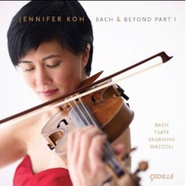 Jennifer Koh Bach and Beyond CD1 cover