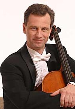 Karl Lavine, principal cello of WCO