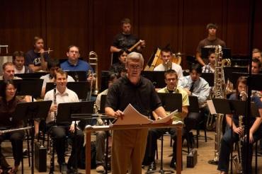 Steve Bryant Conceto for Wind Ensemble at UT-Austin