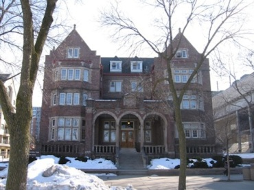 university club uw in winter