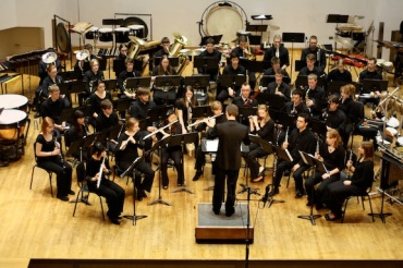 UW Wind Ensemble performance