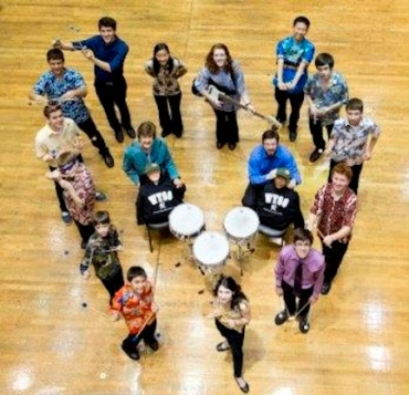 WYSO percussion Ensemble 2013