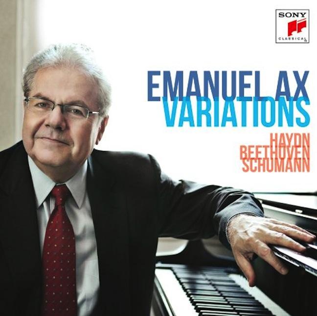 Emanuel Ax Variations CD
