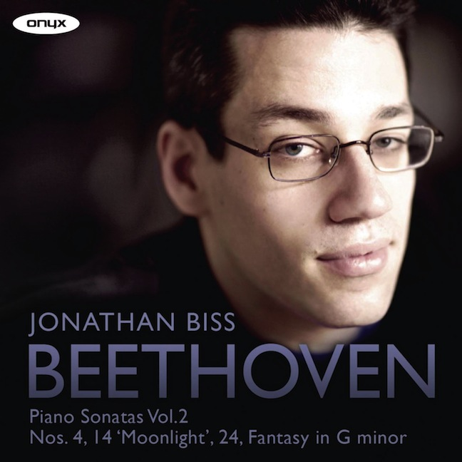 Jonathan BIss Beethoven CD vol. 2