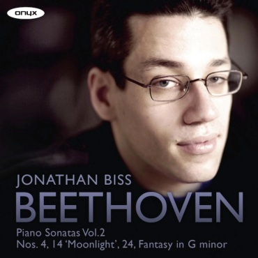 Jonathan BIss Beethoven CD vol. 2