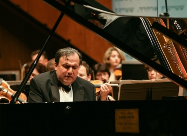 Yefim Bronfman 1 by Oded Antman